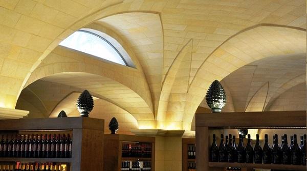 Mosaico soffitto a botte vestibolo cappella di sant andreau flickr