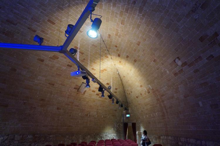 Volta spericolata nel castello di Otranto