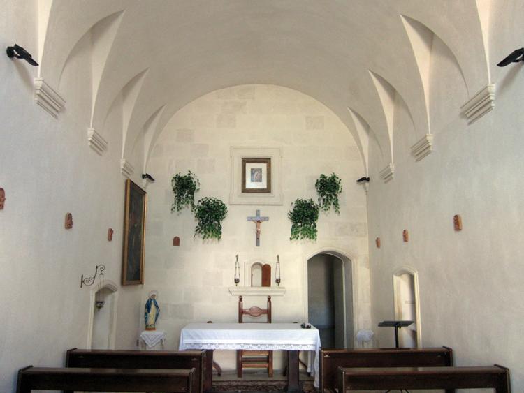 Volta della cappella di San Ligorio