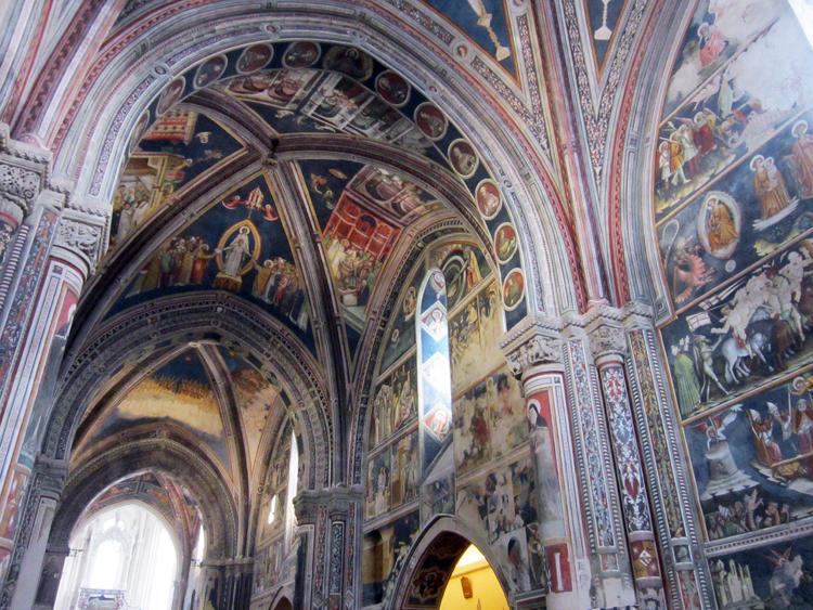 Volta nella chiesa di Santa Caterina a Galatina