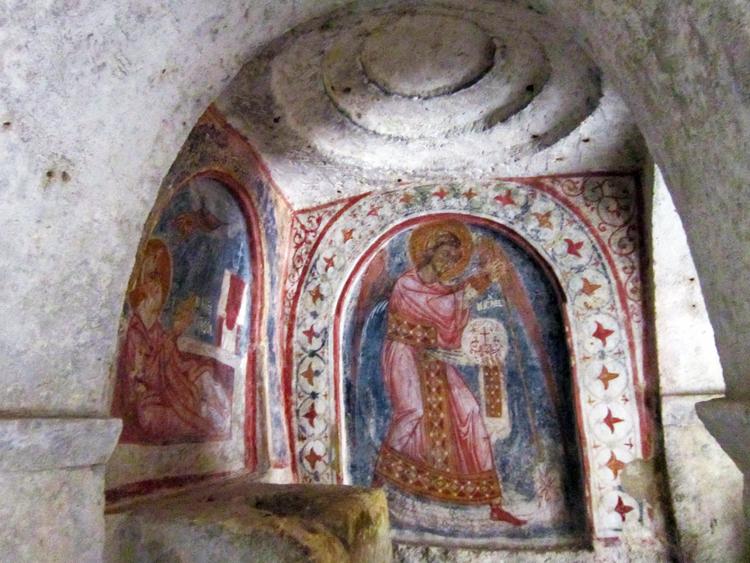 Volte cripta di San Nicola a Mottola