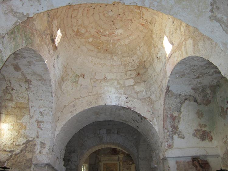 Vole della chiesa della Madonna della Gallana